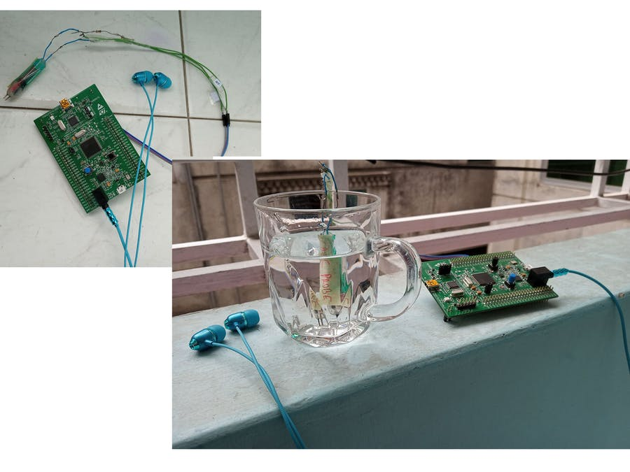 Water Purification Testing Device for Blind Person