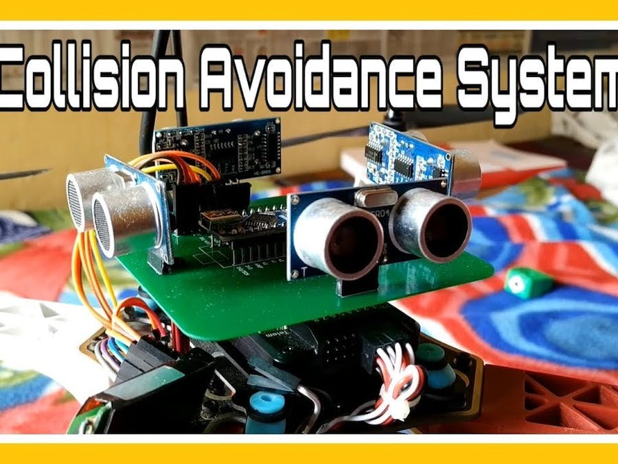 Collision Avoidance System for Drones