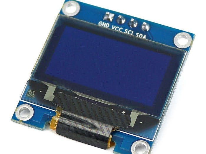 How to Use an OLED Screen (128 per 64)