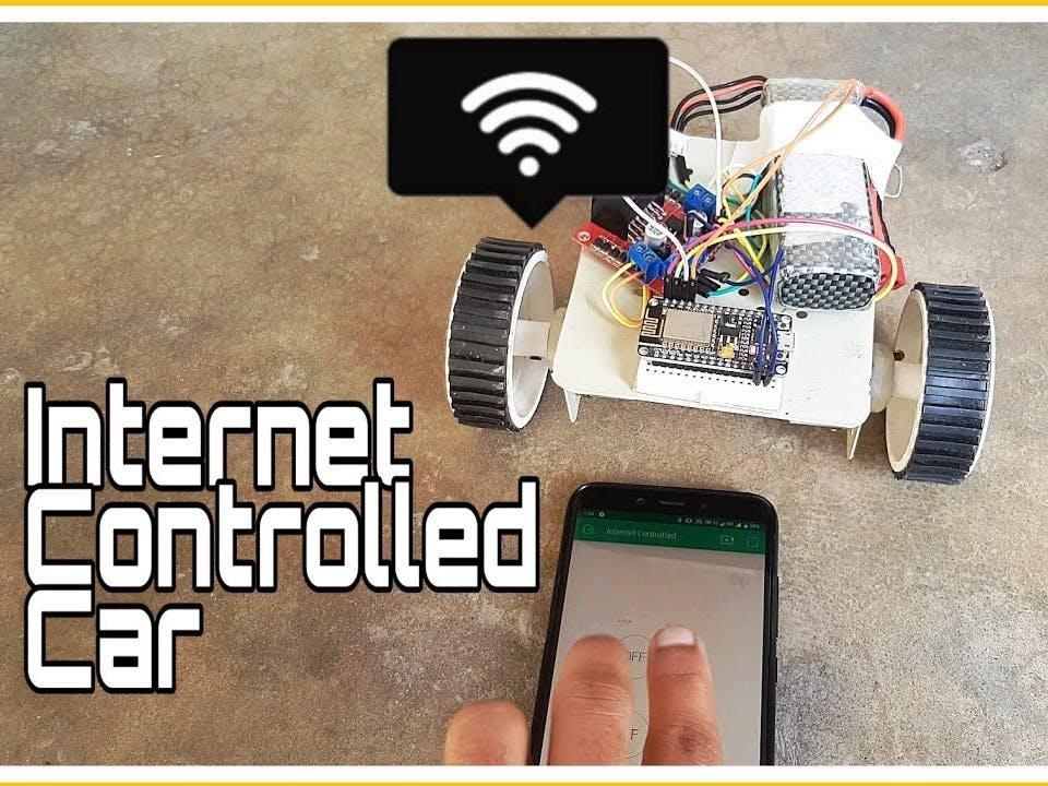 Internet Controlled Car
