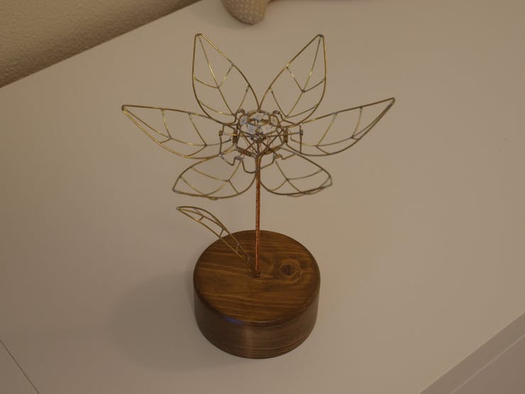 Ever Blooming Mechanical Tulip - Hackster io
