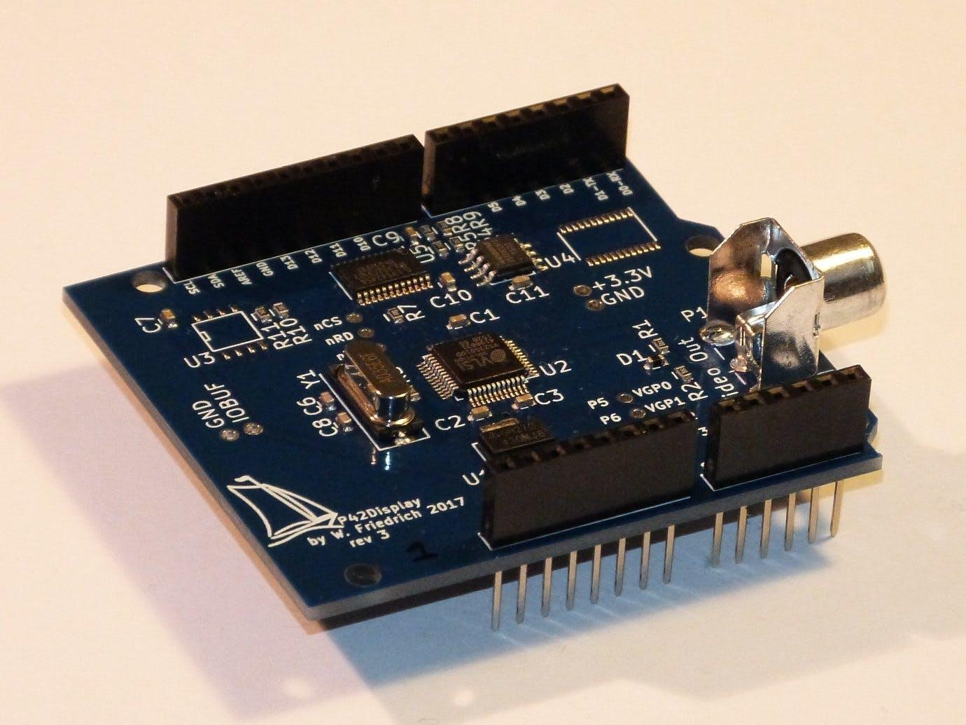NTSC/PAL Video Display Shield