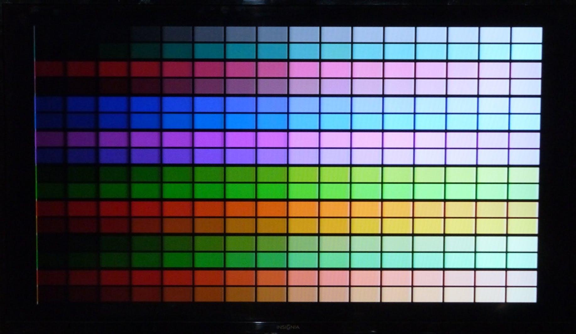 NTSC 8bit Colour palette