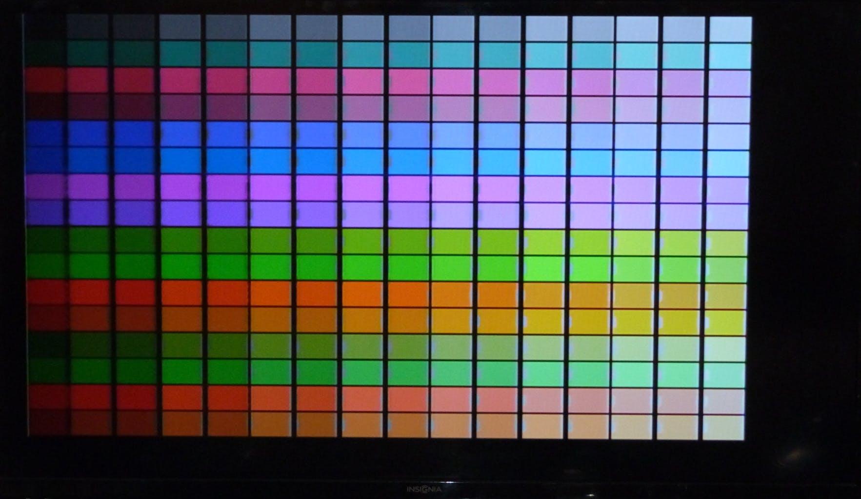 PAL 8bit Colour Palette