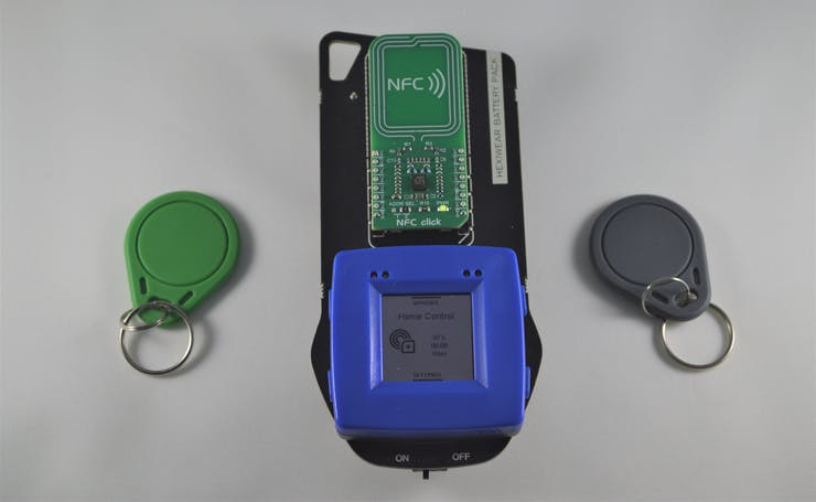 Home Controller with NFC tags