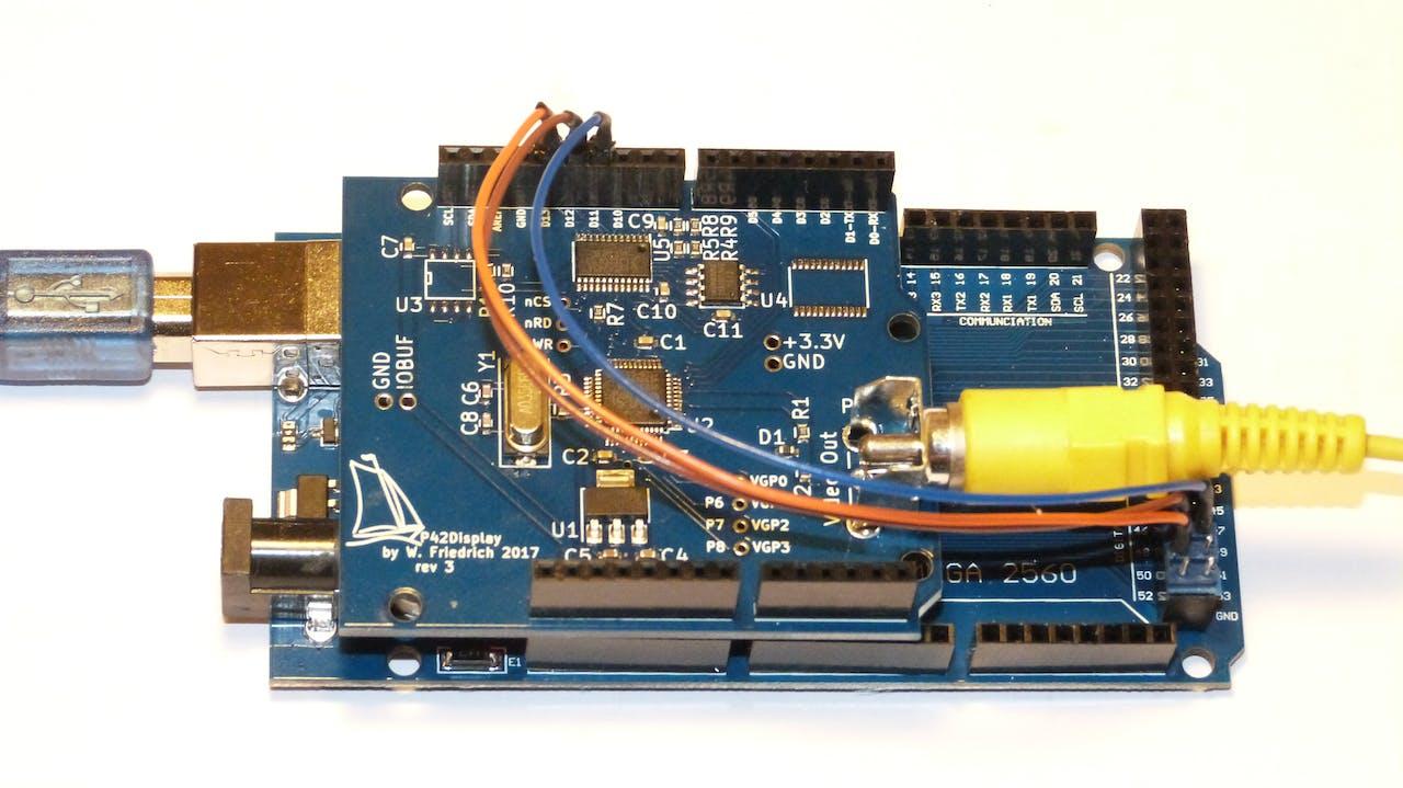 NTSC/PAL Video Display Shield - Hackster io