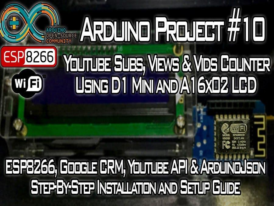 YouTube Subs, Views & Videos Counter