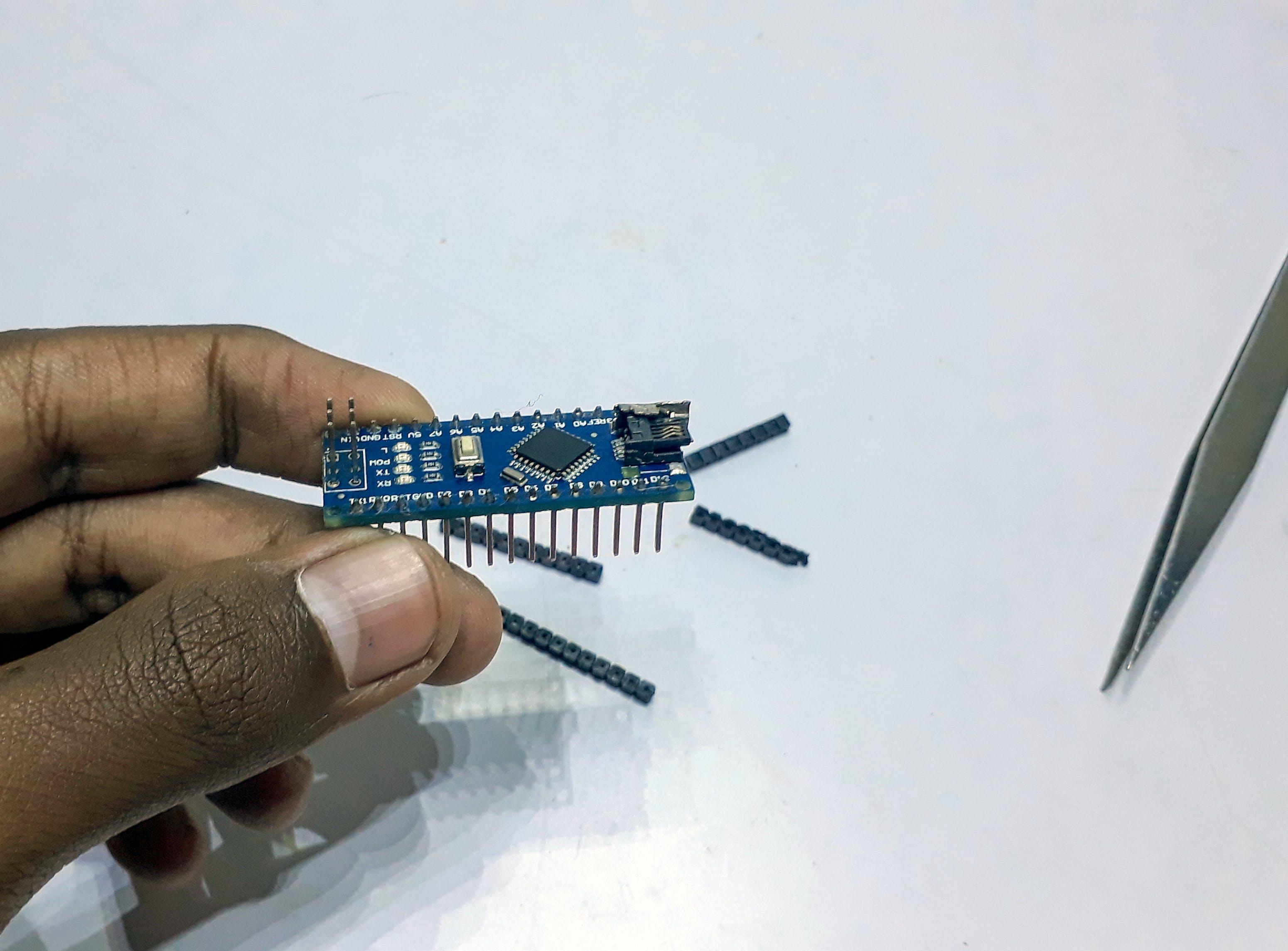 Braces removed Arduino