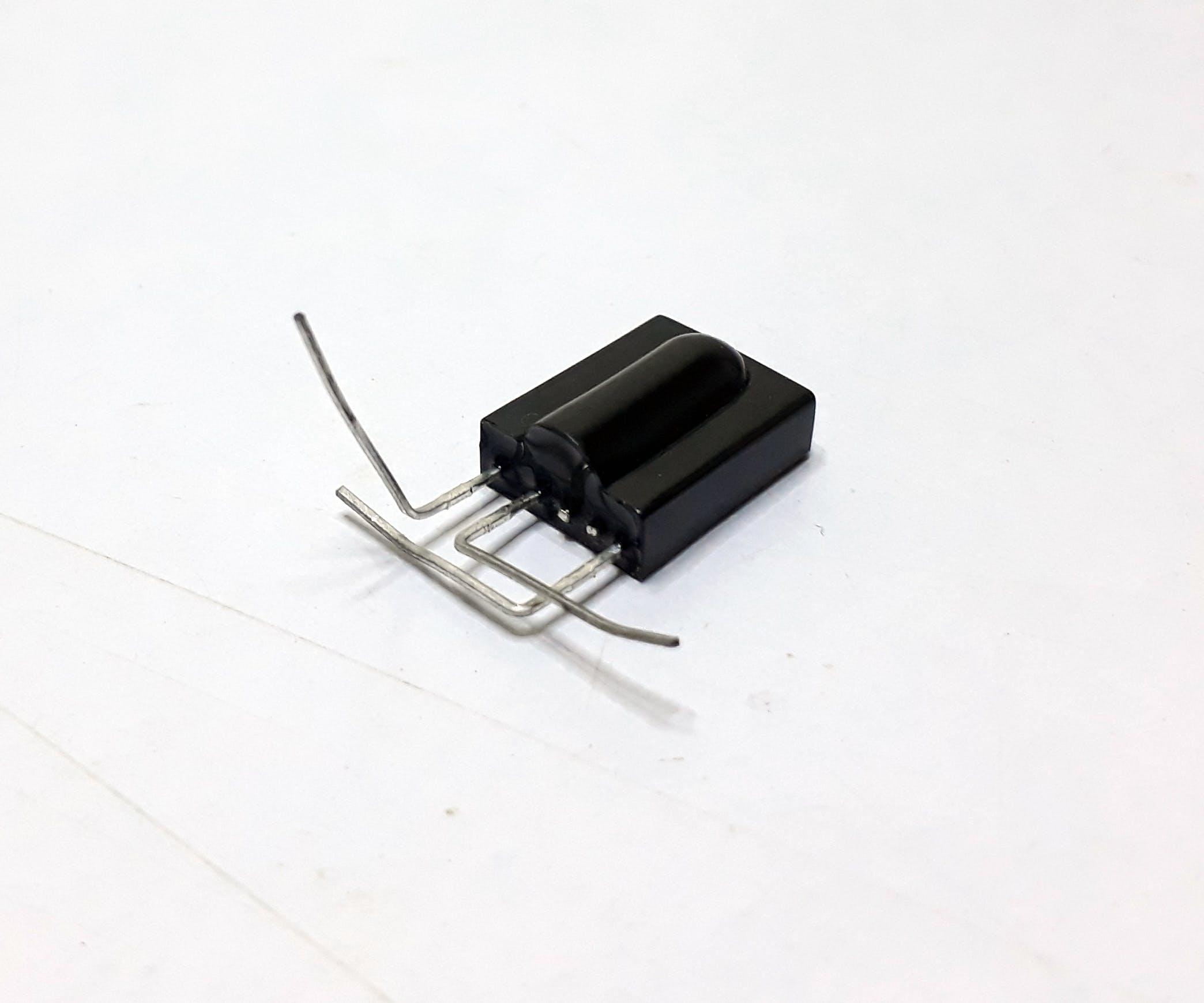 TSOP1738 pin bending for mounting