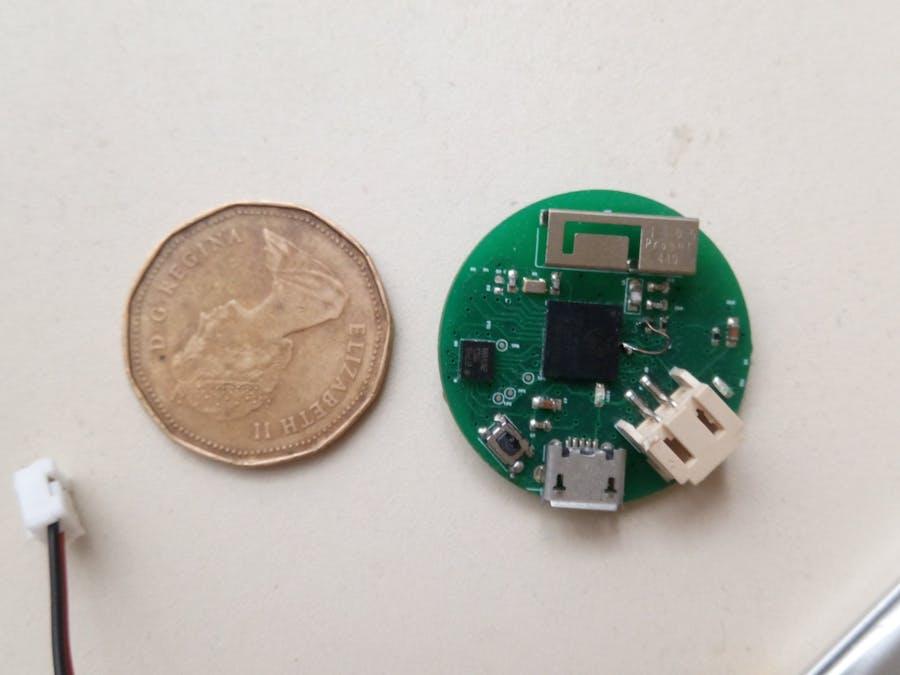 ESP32 Pico D4 Coin IMU for AI gesture