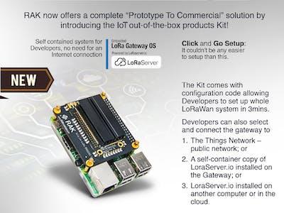 Simplest LoRa Starter Kit w/ RAK2245 + RPi + TTN/LoRaServer