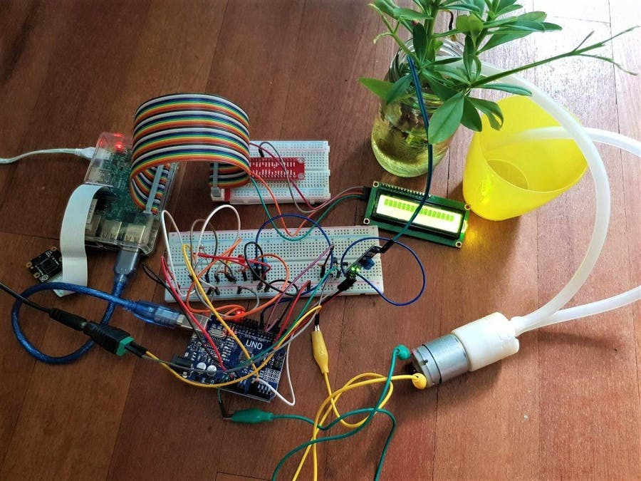 Smart Garden - Raspberry Pi & Arduino - Hackster io