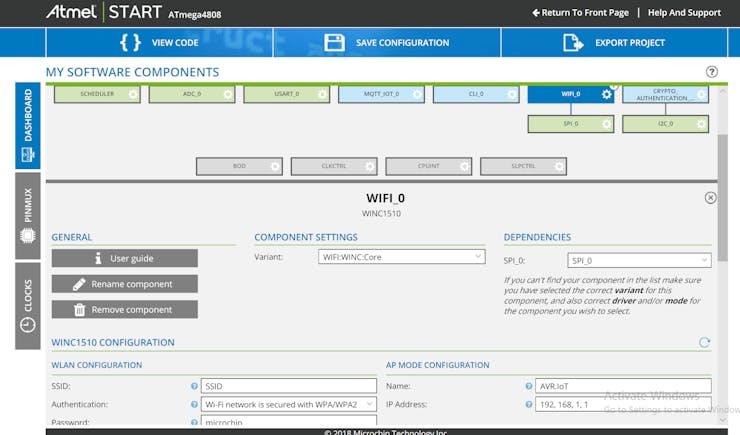 Program the AVR-IoT WG Development Board - Hackster io