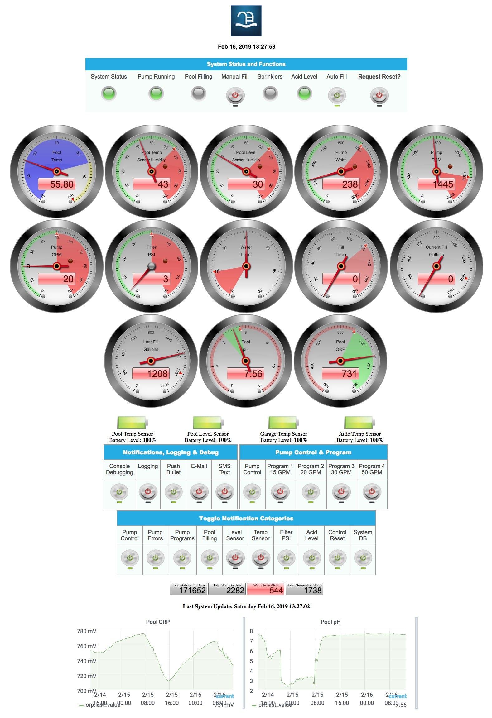 V3.5.0 Web Interface