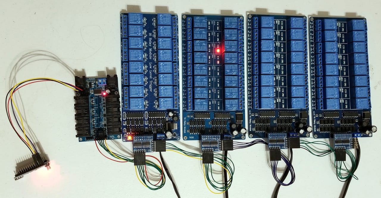 Control Up to 65,280 Relays with Your Arduino! - ster.io on