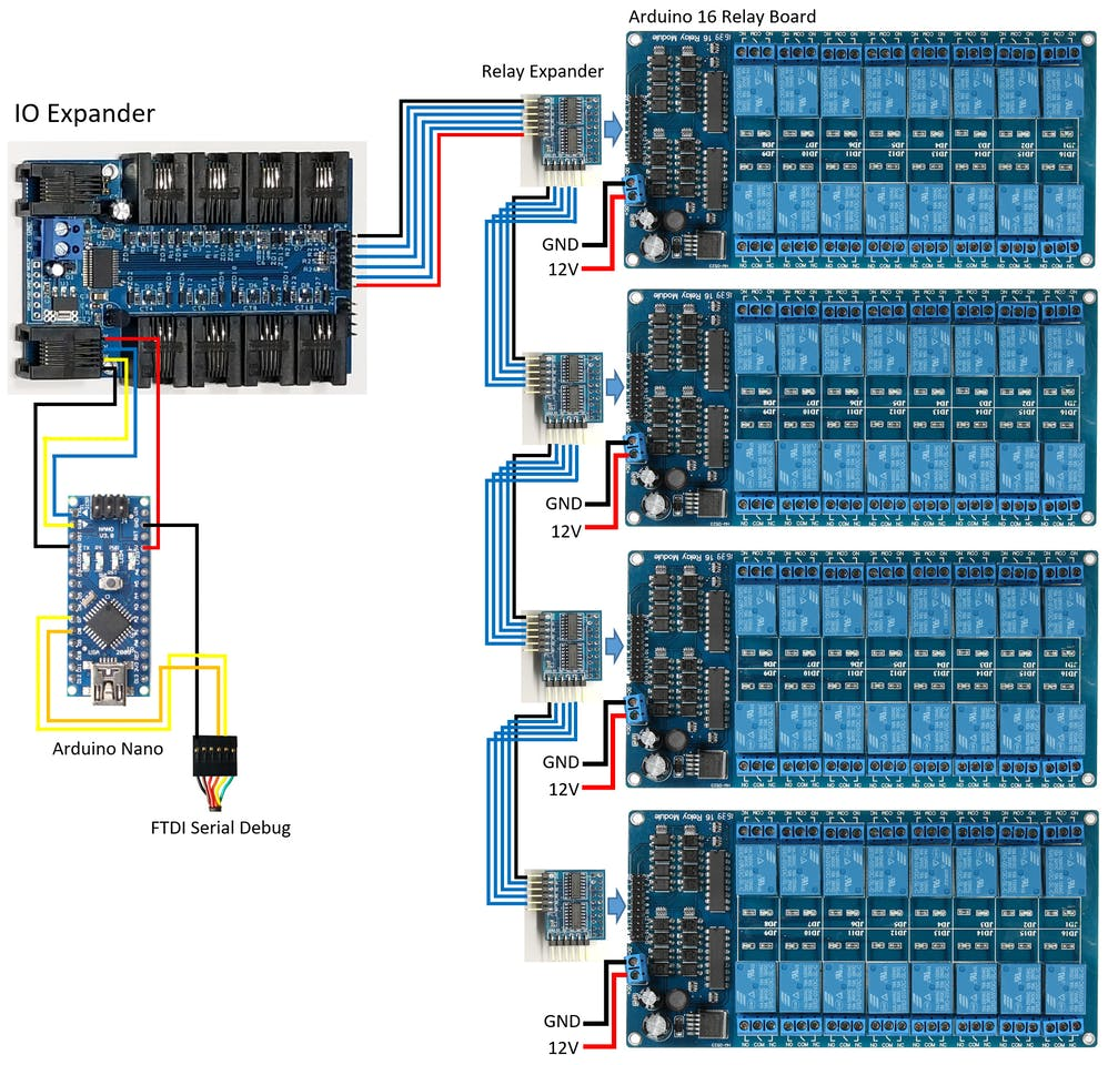 Marvelous Control Up To 65 280 Relays With Your Arduino Arduino Project Hub Wiring Digital Resources Timewpwclawcorpcom