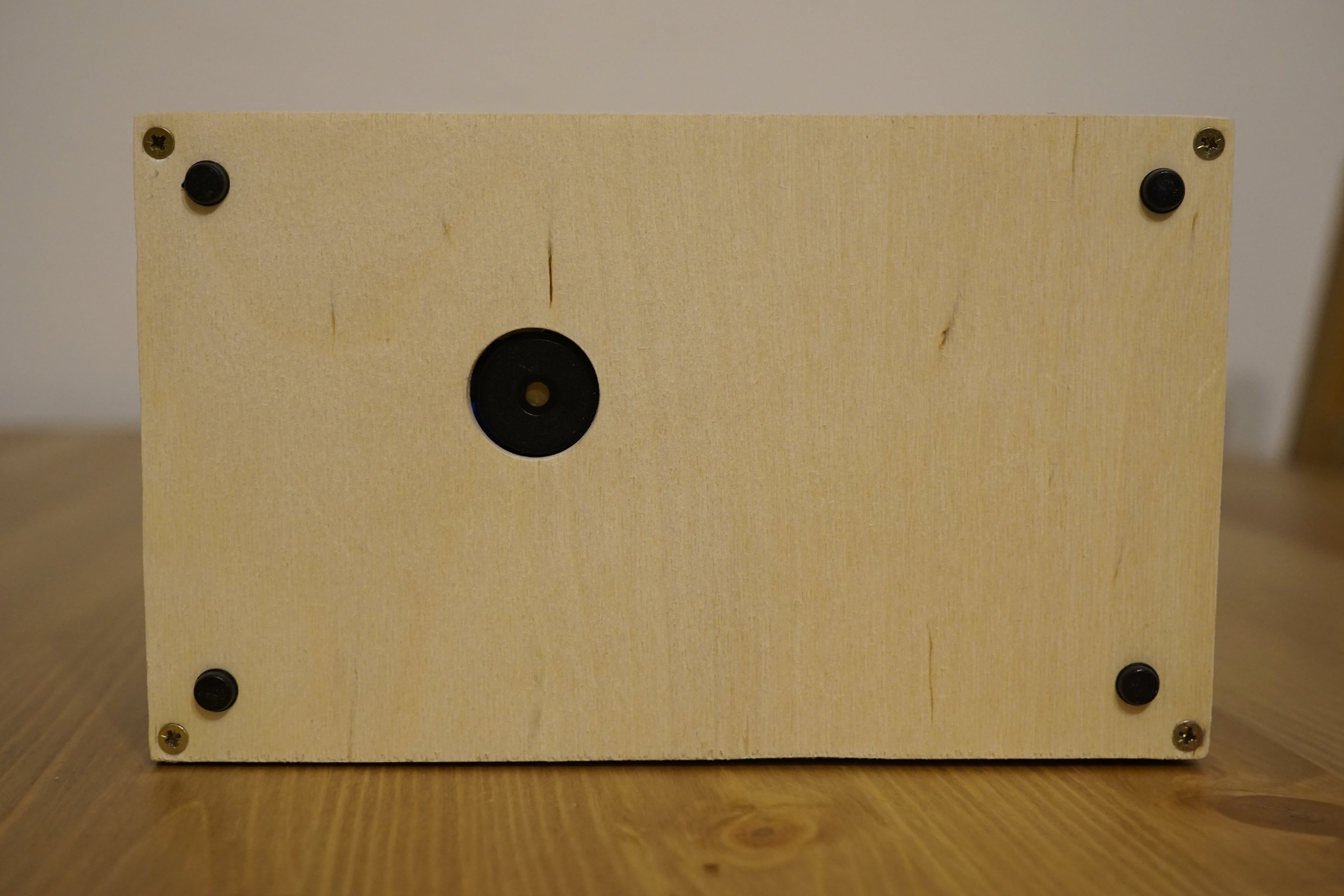 Bottom view with buzzer