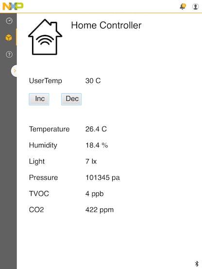 Mobile App on iPad