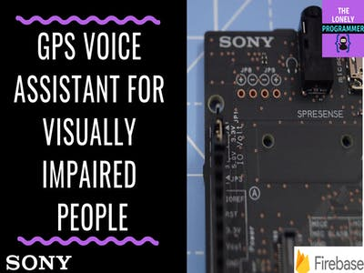 GPS Voice Assistant for Visually Impaired People