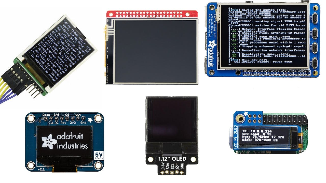 Best Raspberry Pi Displays for Your Project – Part 2 - Hackster io