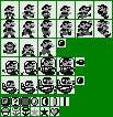 Super Mario Land Sprites