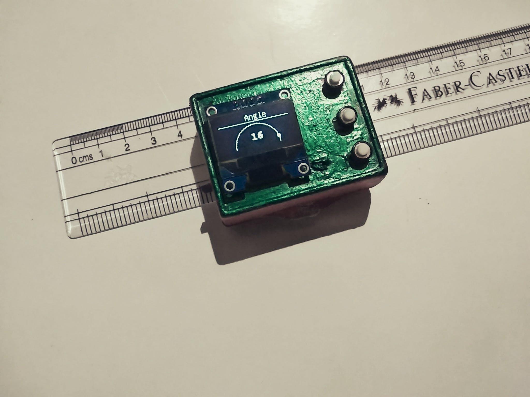 DIY Digital Protractor Under $13