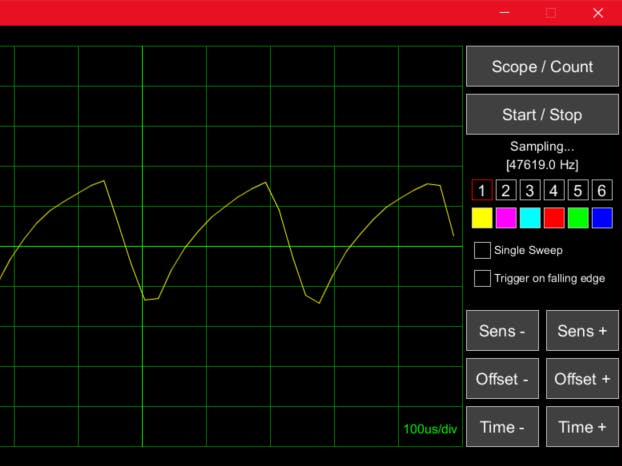 Sampling Scope & Frequency Counter