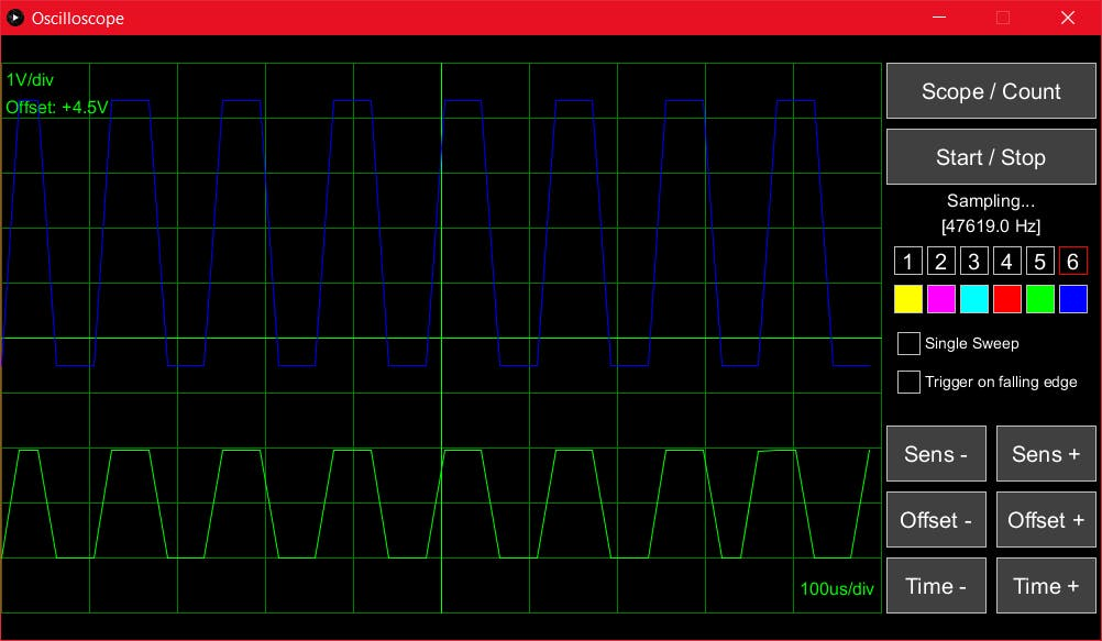 Sampling Scope & Frequency Counter - Hackster io