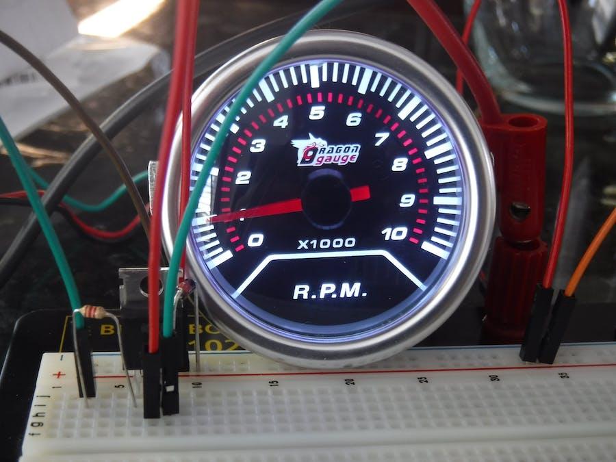 Arduino Car Tachometer Simulator (NO SIMHUB) - Hackster io
