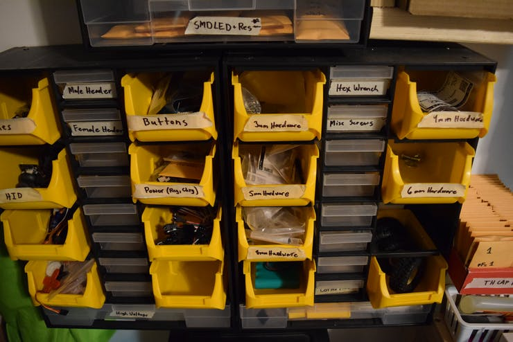 How to Make a Makerspace NFC Part Management System