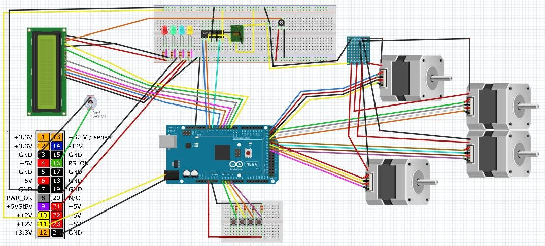 Coin Op Personal Vending Machine - Arduino Project Hub Omega Gun Schematics And Diagrams on