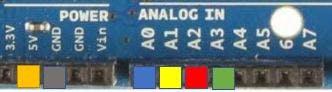 Analog Button Pins & Power