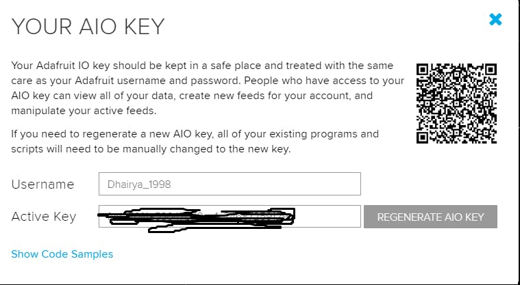 This is have you get the key.