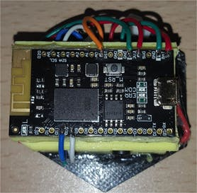 Figure 9. Connection AD8232 to the Arduino 101