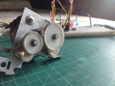 Stepper Motor Speed Control with an NE555 Timer