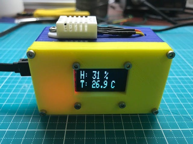 thermostat with DHT22