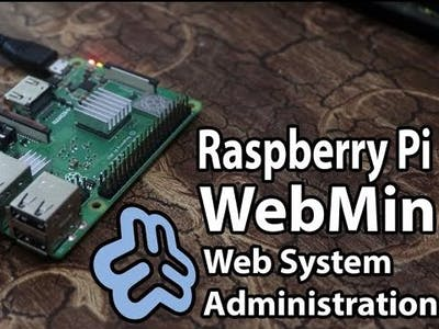 Webmin System Administration Web Interface for Raspberry Pi