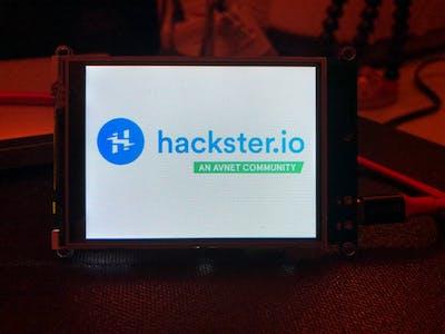 Hackster.io Adafruit PyPortal IoT Device
