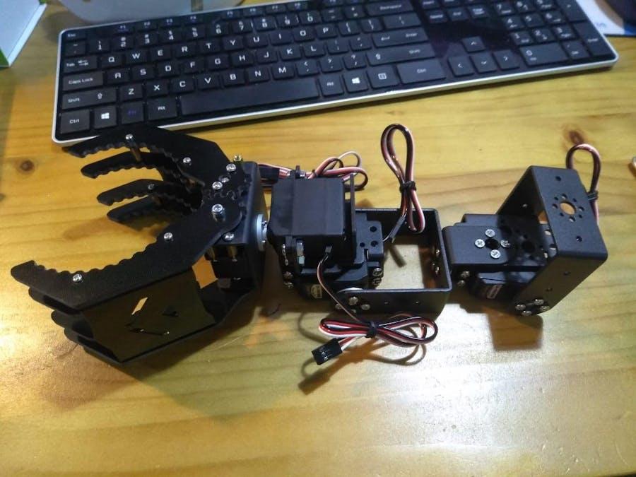 Control a Robotic Arm with Zio (Part 1) - Hackster io