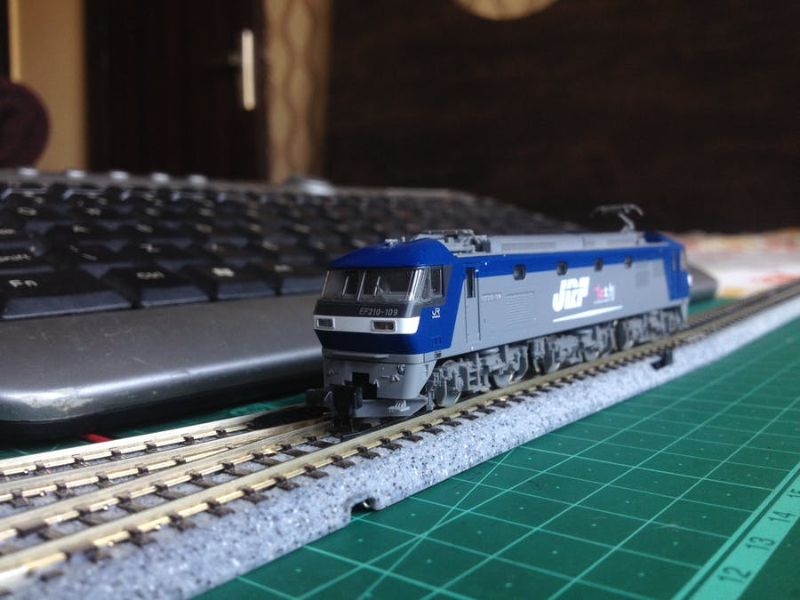 Control Your Model Train Layout with a Keyboard