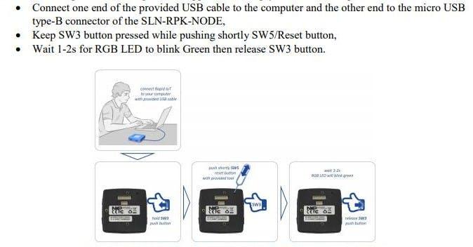 Flashing Firmware To NXP Kit