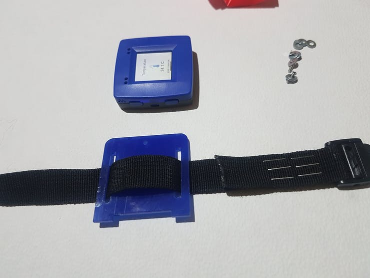 Assembly of the NXP module watch