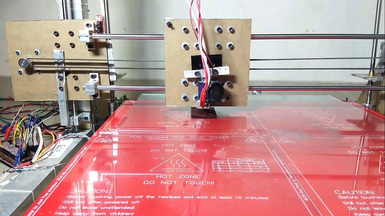 How to Make a Big 3D Printer at Home Using Arduino - Hackster io