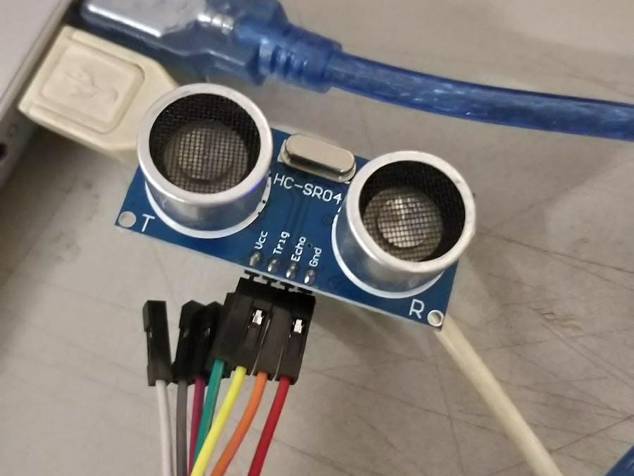 Ultrasonic motion sensor for comatose patients