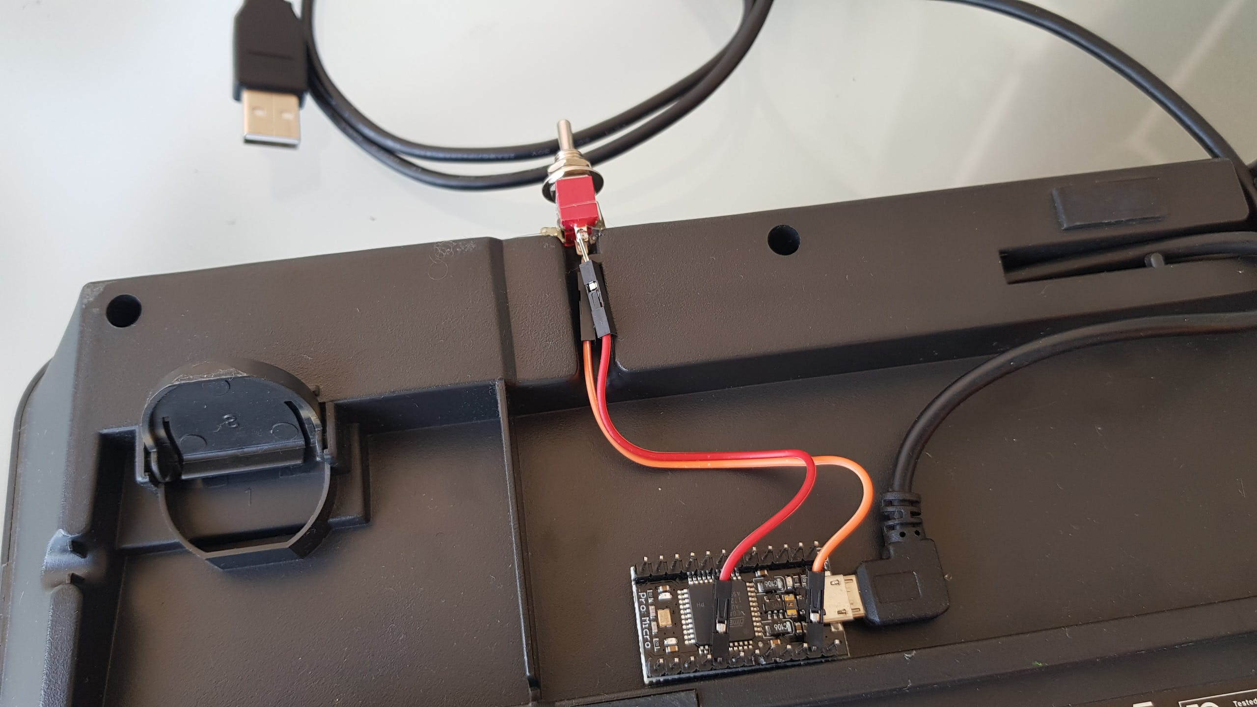 The Shining keyboard circuit