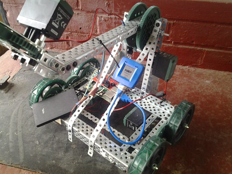 testing with Vex Robotics