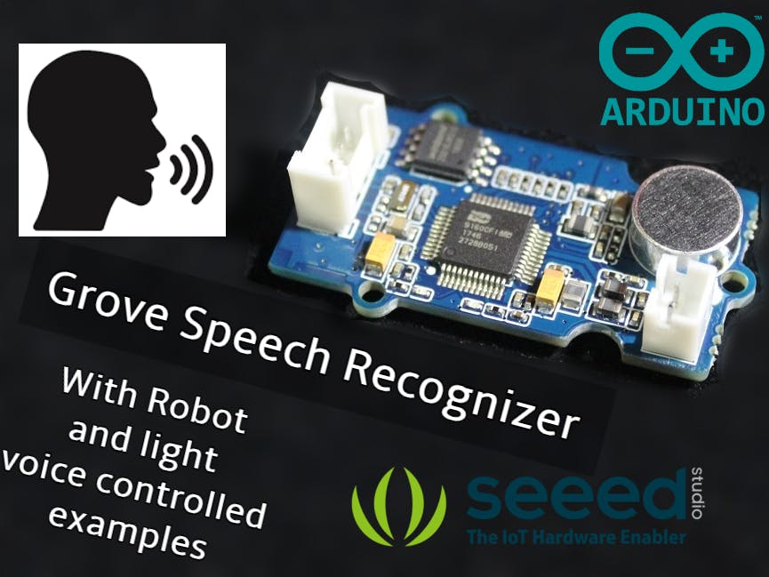 Interfacing Grove Speech Recognizer with Arduino