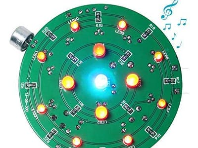Solder Birthday Cake Candle Lights for Your Kids