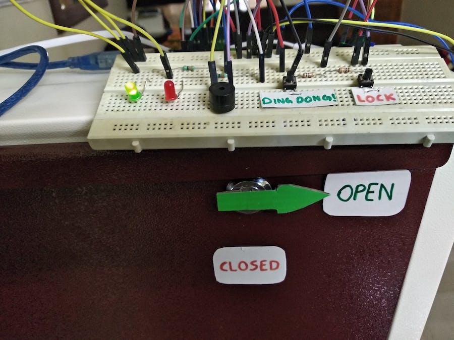Smart Door with Face Unlock - Arduino Project Hub