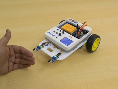 Follow Me Robot Using Arduino Based Embedded Platform